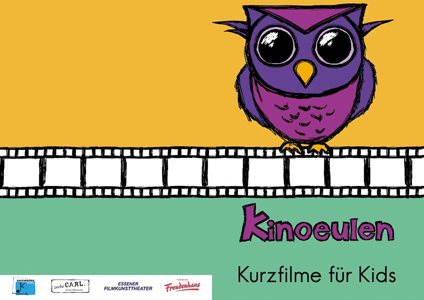 Kinoeulen Flyer 01 - Tierische Trickfilme