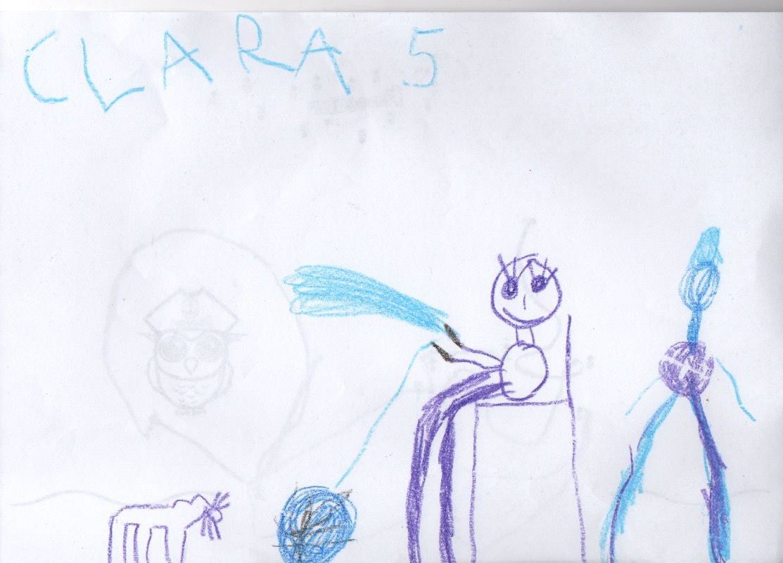 Clara, 5 Jahre